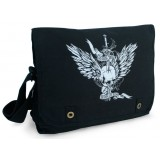 Skull And Wings Satchel Bag.        RRP $39.95    (Online store special $34.95)
