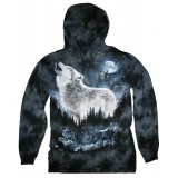 Timber Wolf - Hooded Long - Sleeve T-Shirt