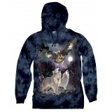 Spirits of the Wild - Hooded Long - Sleeve T-Shirt