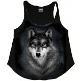 Snow Wolf Tank Singlet