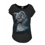 Forest koala Scoop Neck Top